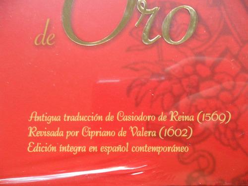 la biblia del siglo de oro edición integra en español actual