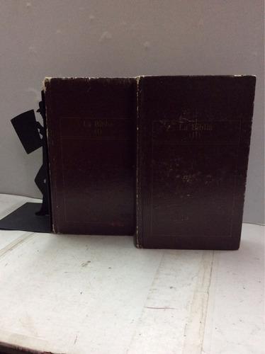 la biblia (dos tomos)