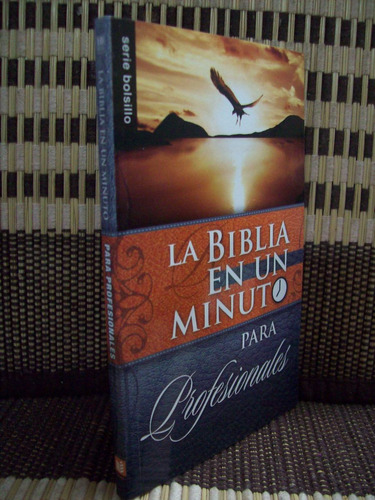 la biblia en un minuto para profesionales