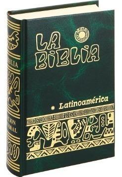 la biblia latinoamericana (verde) de bolsillo- envio gratis