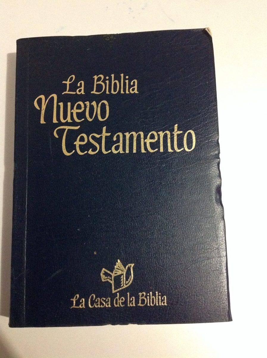 La Biblia Nuevo Testamento- La Casa De La Biblia - $ 100