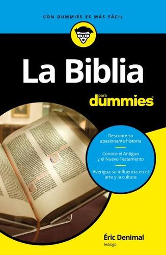 la biblia para dummies(libro ediciones de la biblia)