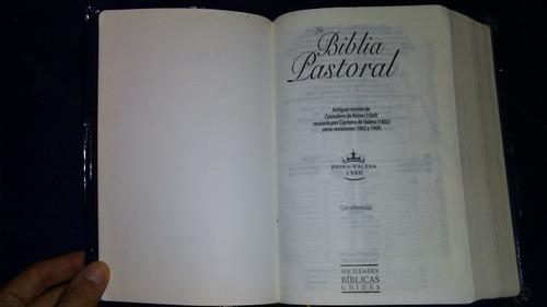 la biblia pastoral, renia valera 1960