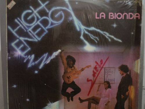 la bionda - high energy - lp