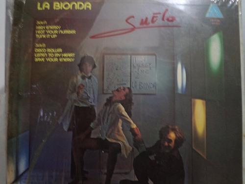 la bionda - high energy - lp