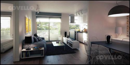 la blanqueada, hermoso apartamento de 1 dorm, a estrenar, excelente ubicación y vista