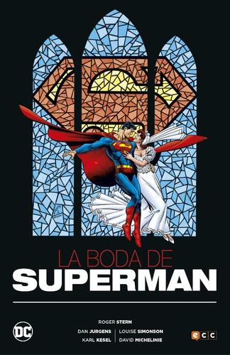la boda de superman - dc ecc comics - robot negro
