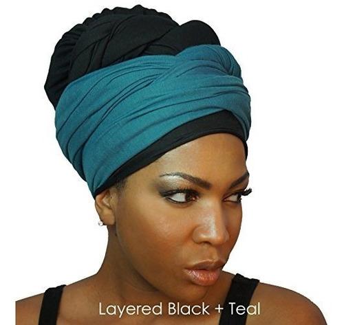 la bufanda larga del headwrap del abrigo de la cabeza de pun