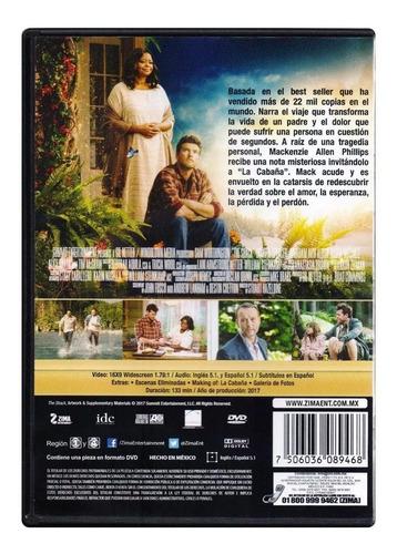 la cabaña pelicula dvd