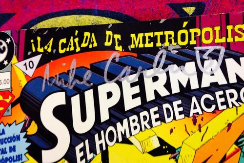 la caída de metrópolis edición especial autografiada!!