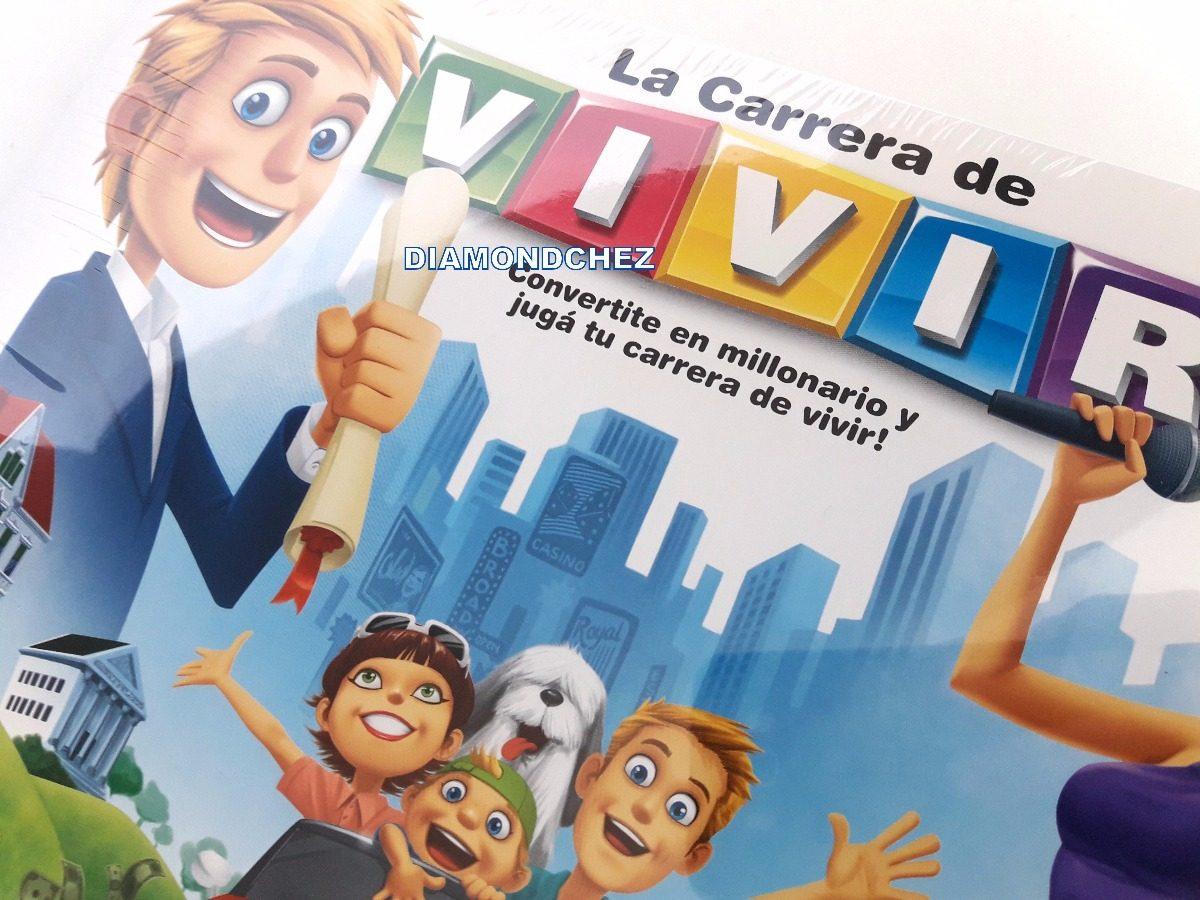 La Carrera De Vivir Divertido Juego De Mesa Familia Top Toys 343