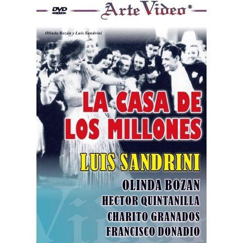 la casa de los millones - luis sandrini - dvd original