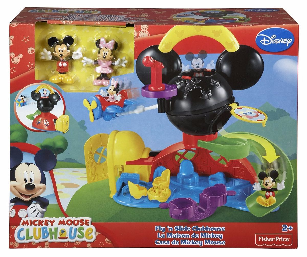 La casa de mickey mouse fly n slids fisher price mattel en mercado libre - Juguetes la casa de mickey mouse ...