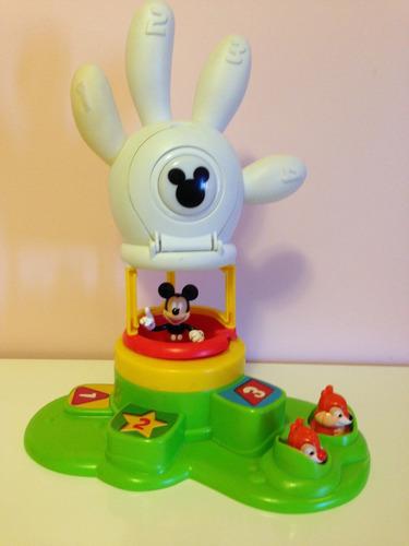 la casa de mickey mouse globo, original disney, como nuevo