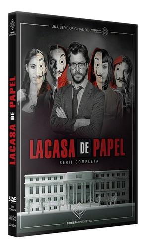 la casa de papel coleccion completa temporada 1 y 2 dvd