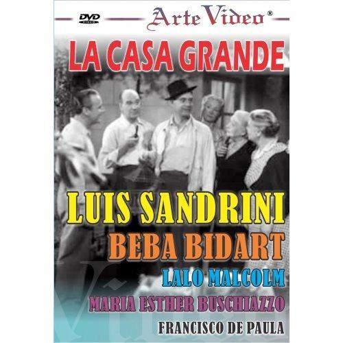 la casa grande - luis sandrini - beba bidart - dvd original
