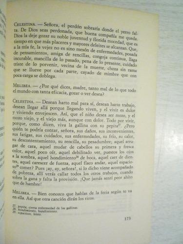 la celestina. fernando de rojas. círculo de lectores. 1a ed.