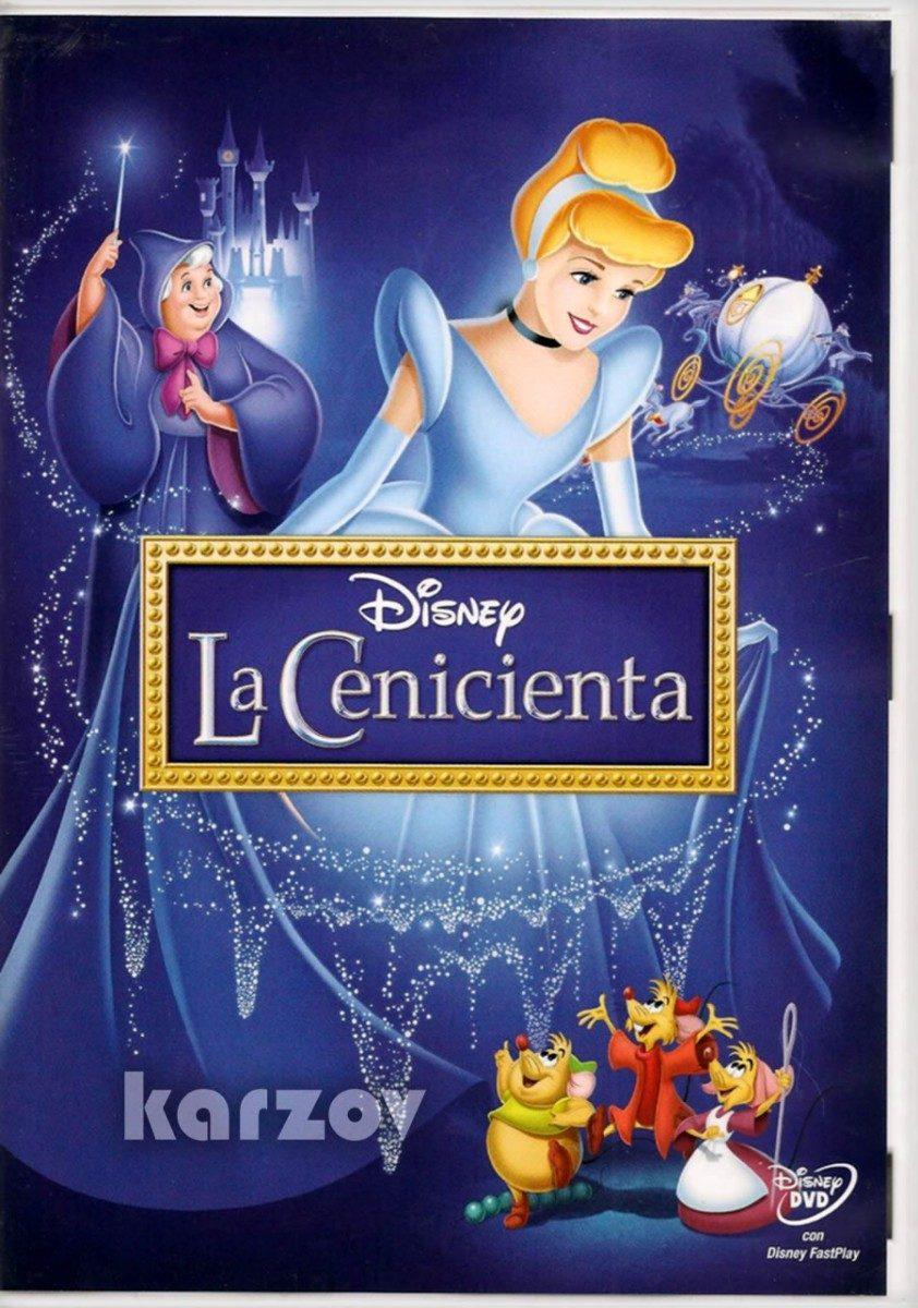 La cenicienta cinderella 1950 walt disney dvd en mercado libre - Pelicula cenicienta disney ...