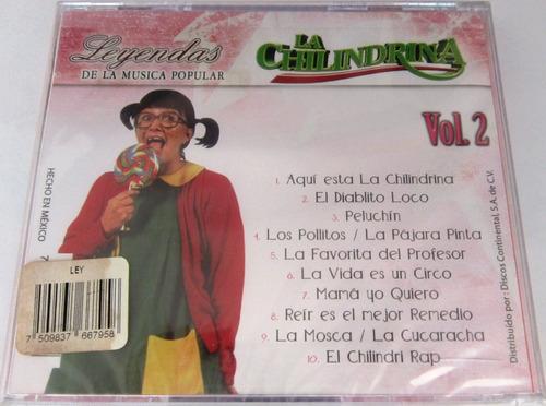 la chilindrina - leyendas de la musica popular vol 2 nuevo