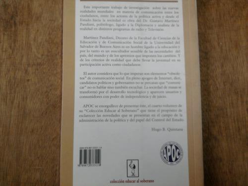 la ciberpolítica y los nuevos ciudadanos - martinez pandiani