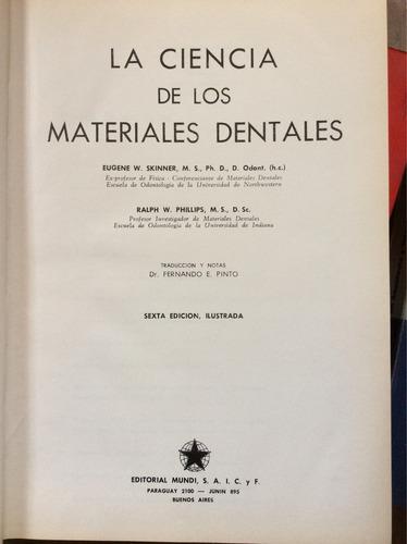 la ciencia de los materiales dentales - eugene skinner