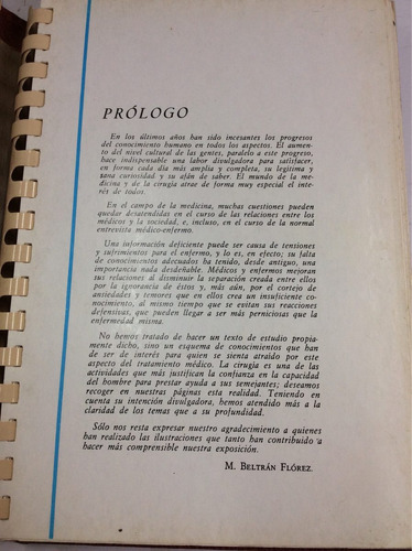 la cirugía, enciclopedia atlas de la enfermería, jover
