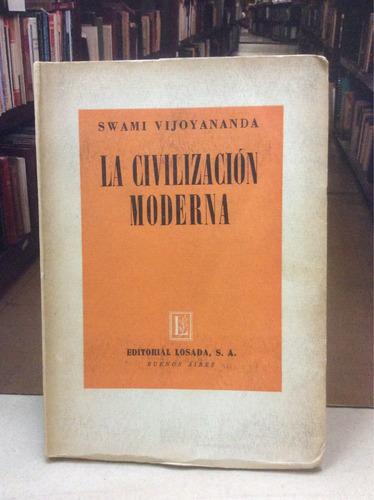 la civilización moderna. swami vijoyananda. historia.