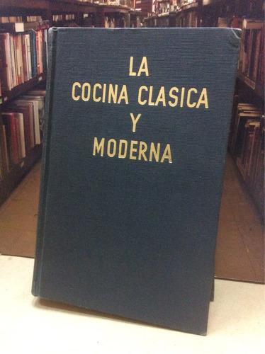 la cocina clásica y moderna