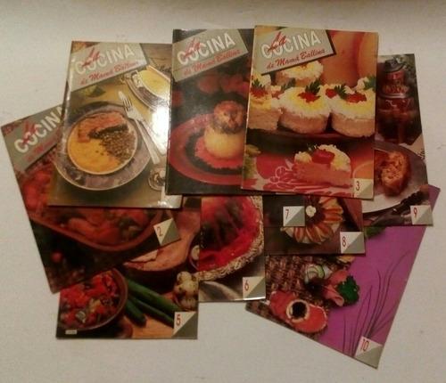 la cocina de mamá ballina completo 10 fasciculos marta balli