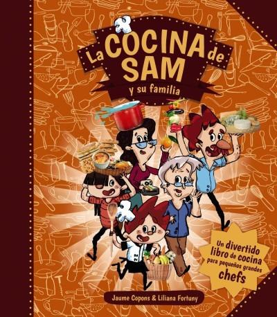 la cocina de sam y su familia(libro infantil y juvenil)