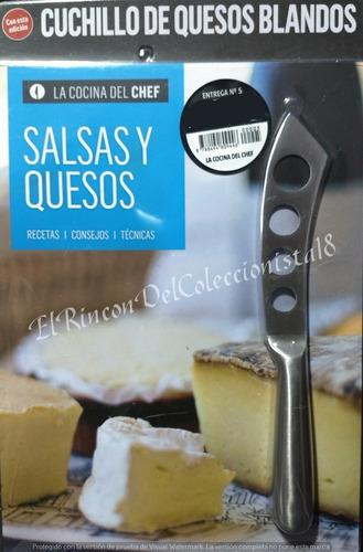 la cocina del chef n° 5 cuchillo de quesos blandos