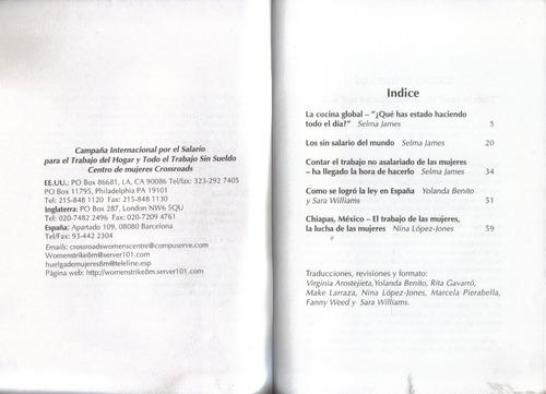 la cocina global / selma james