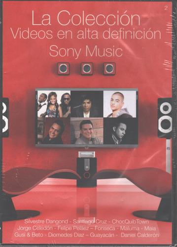 la coleccion 2 videos en alta definicion sony music