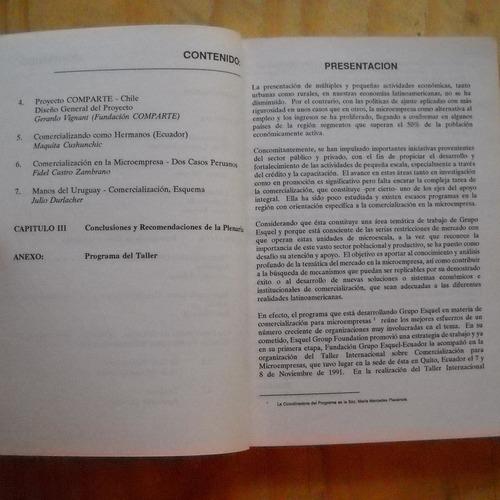 la comercializacion en la microempresa, ed. fundacion grupo