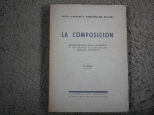 la composicion - julia margarita hermann de alinari - 1940