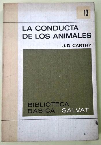la conducta de los animales j.d. carthy