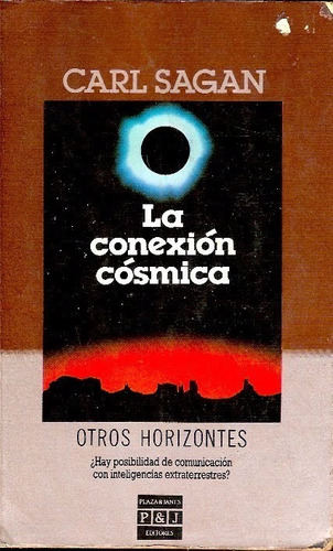 la conexion cosmica carl sagan