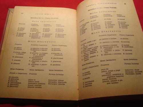 la conjugacion  de los verbos castellanos, 1966.