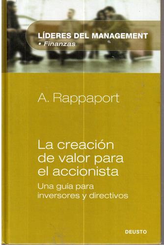 la creación de valor para el accionista de a.rappaport
