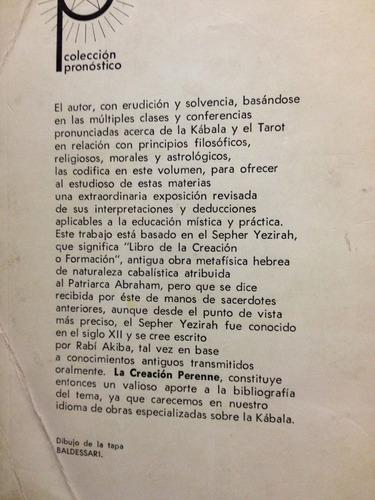la creación perenne - lu beca - editorial kier - 1970
