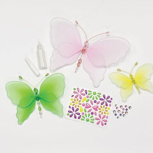 la creatividad para niños con cuentas de las mariposas