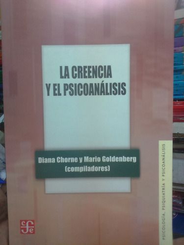 la creencia y el psicoanalisis chorne goldenberg como nuevo