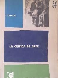 la critica de arte richard a. arte