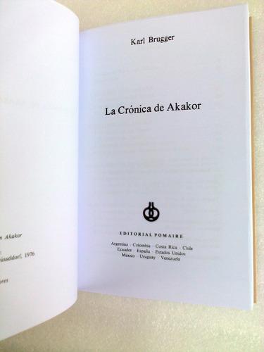 la cronica de akakor karl brugger