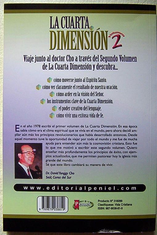 La Cuarta Dimensión 2 David Yonggi Cho Una Vida De Fe Exitos ...