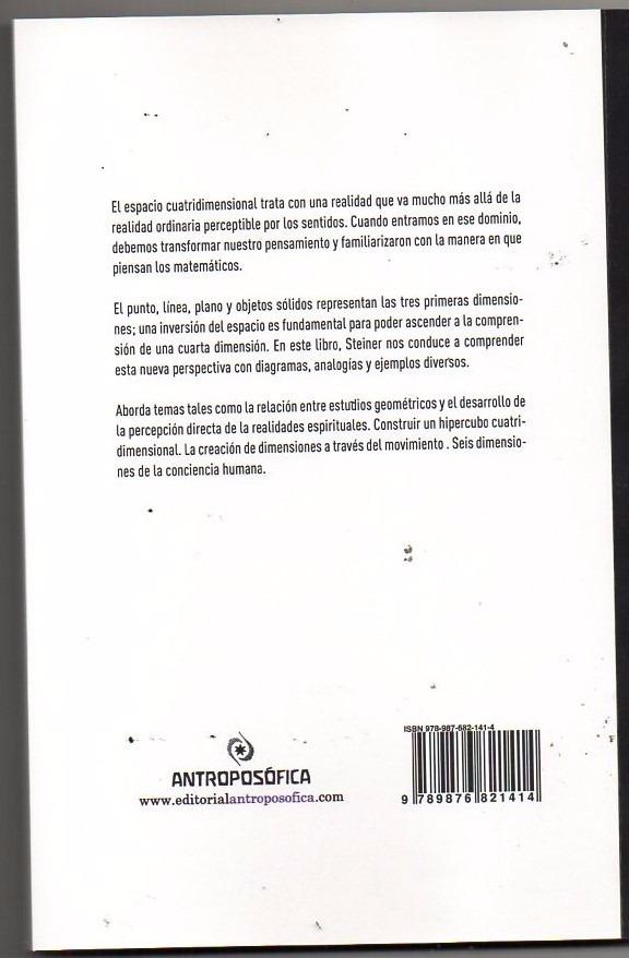LA CUARTA DIMENSION RUDOLF STEINER PDF