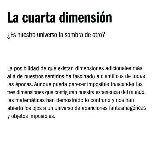 La Cuarta Dimension Tapa Dura Raúl Ibáñez