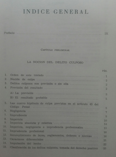 la culpa el delito repercusiones analisis enrico 1971 285