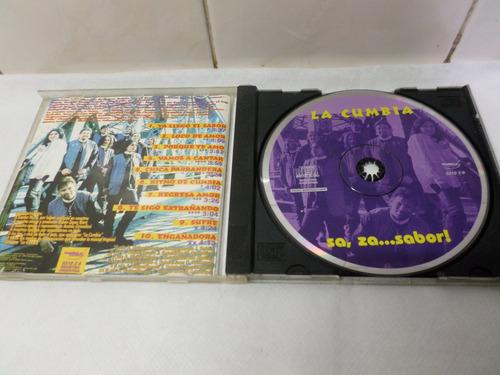 la cumbia sa za sabor! leader music 1998