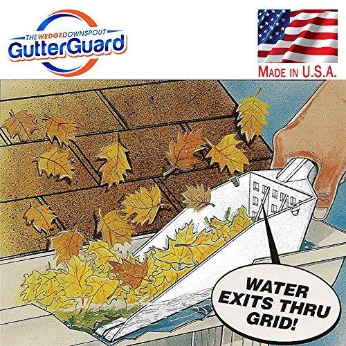la cuña gutter guard para bajantes gutter scoop gutter herra